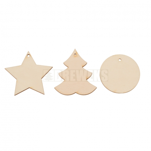 Christmas decorations - set of 15 pcs