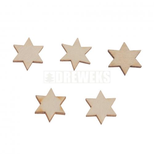 Gwiazdki 15 mm - 5 szt