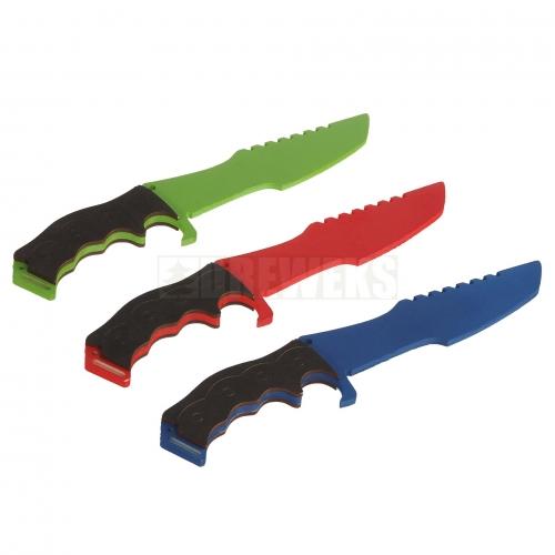 Nóż prosty kolorowy