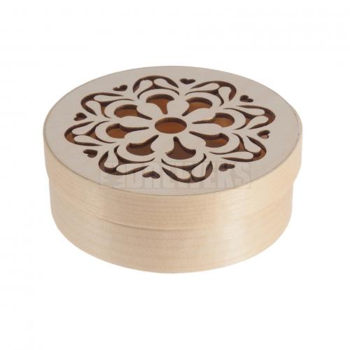 Pojemnik ażurowy okrągły - komplet 3w1