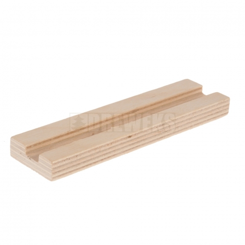 Wooden base for cut-outs (slot 10mm)