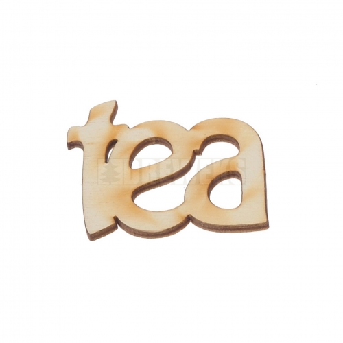 "Inscription ""tea"""