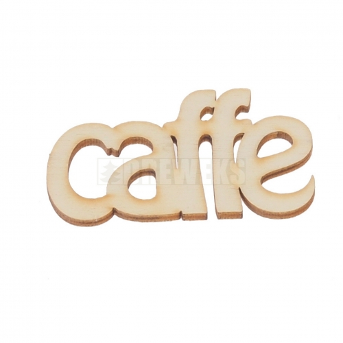 "Inscription ""cafe"""