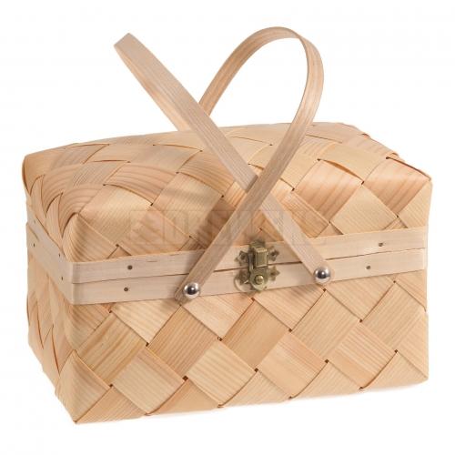 Kufer, kosz z łuby