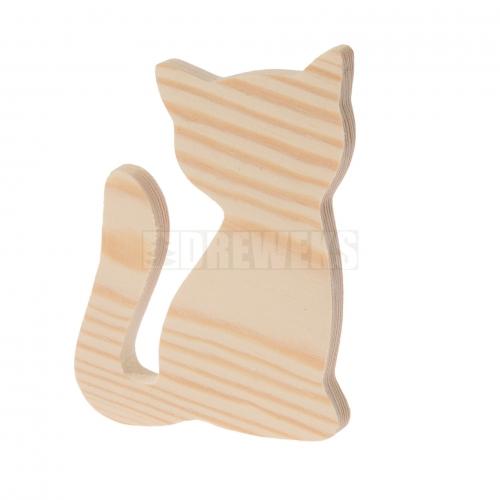 Kotek drewniany 10cm