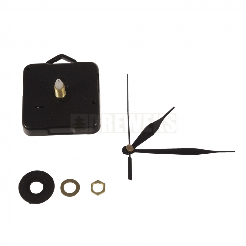 Clock mechanism with hands - 92 mm/ thread 10 mm