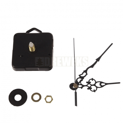 Clock mechanism with hands - 97 mm/ thread 10 mm