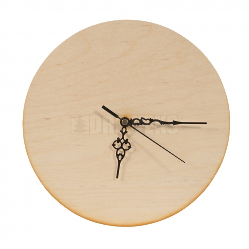 Circle clock - plywood