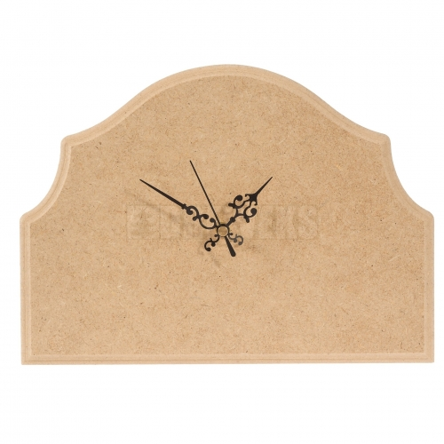 Milled clock/ MDF material
