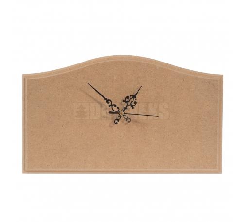 Zegar z plakietki fala mniejsza