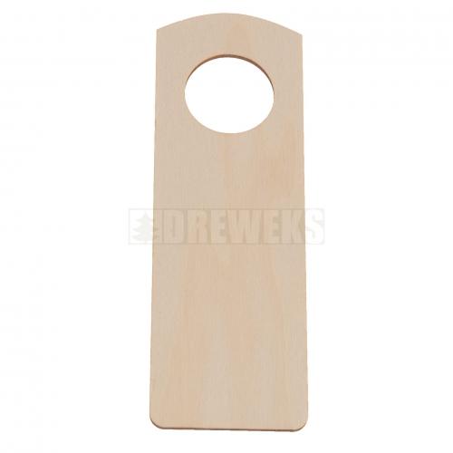 Door knob hanger - circle