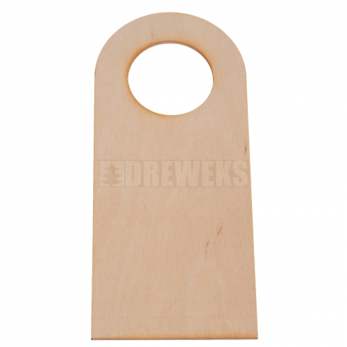 Door knob hanger - circle/ big