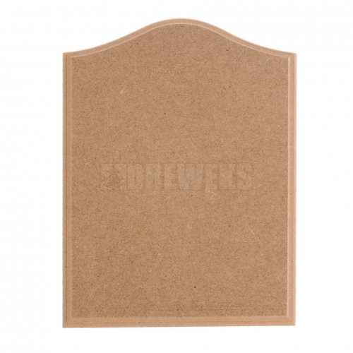 Milled board - MDF material