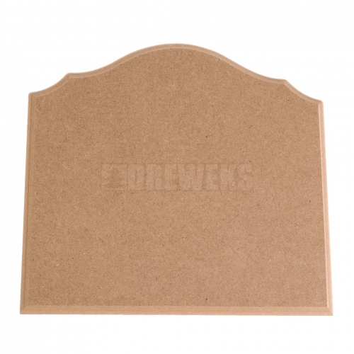 Milled board - big/ MDF material