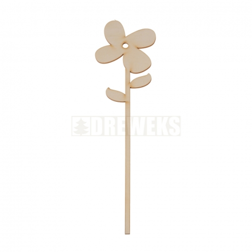 Plywood flower 1
