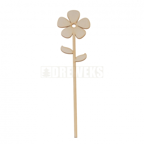 Plywood flower 2