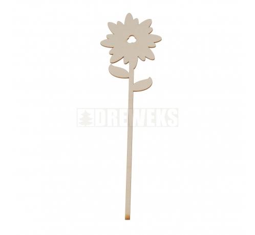Kwiat ze sklejki