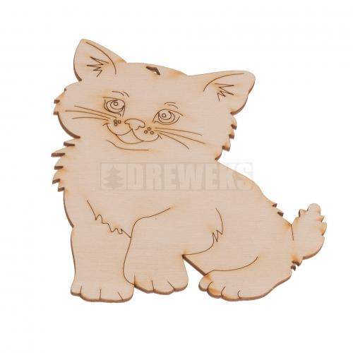 Kotek 2 - wycinanka, podkładka