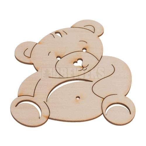 Mug mat - teddy