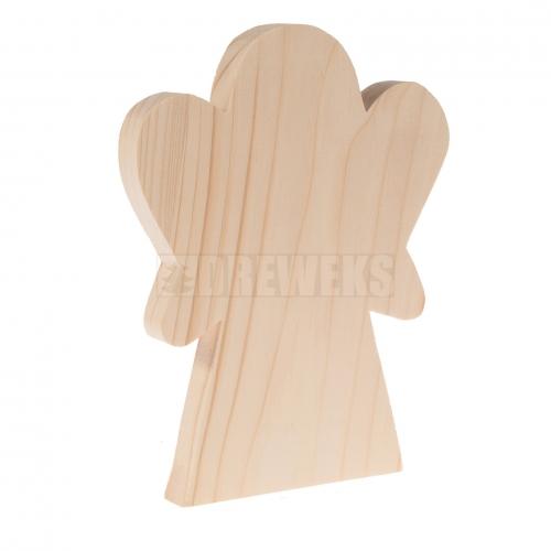 Aniołek stojący mały - drewno