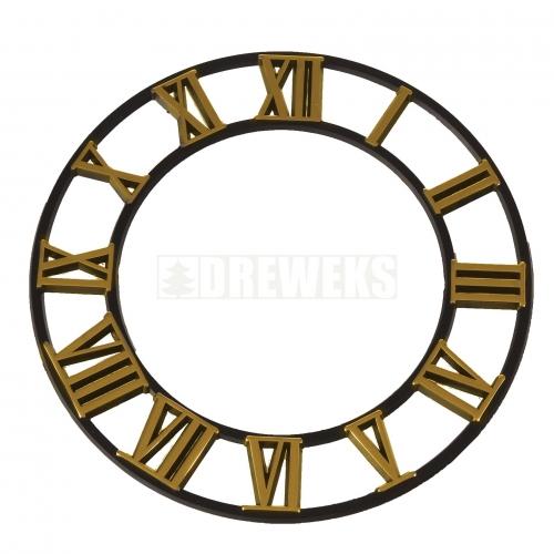 Tarcza z cyframi rzymskimi do zegara