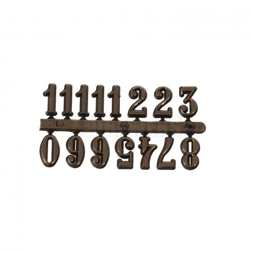 Cyferki arabskie złote