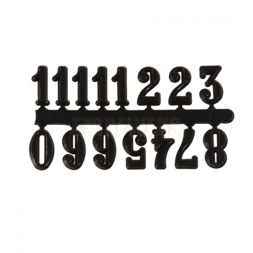 Cyferki arabskie czarne