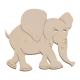 Mug mat - elephant