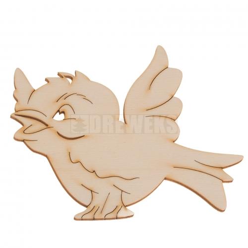 Ptaszek - wycinanka, podkładka