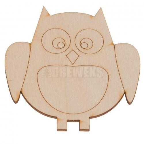 Mug mat - owl