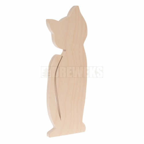 Cat cut-out - plywood/ big