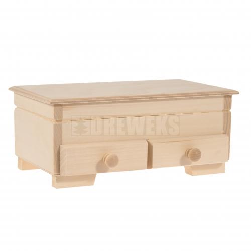 Szkatułka z 2 szufladkami