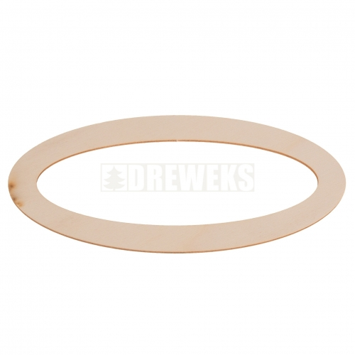 Bookmark / door hanger oval 2
