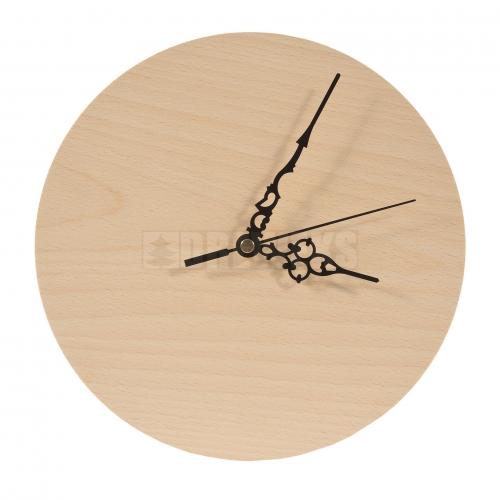Round clock 25 cm