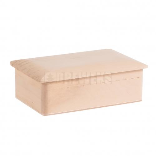Kasetka z drewnianym wieczkiem