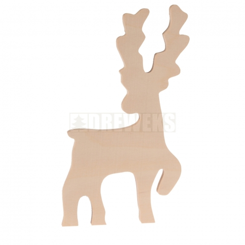 Reindeer on stand