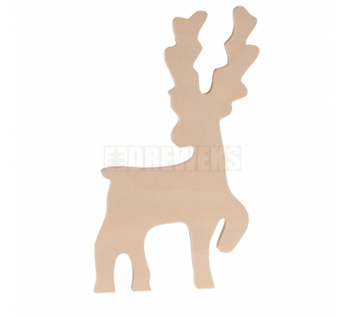 Reindeer on stand