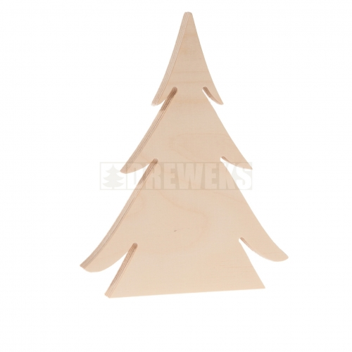 Standing Christmas tree - solid/ plywood