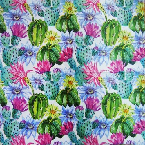 Serwetka - kaktusy
