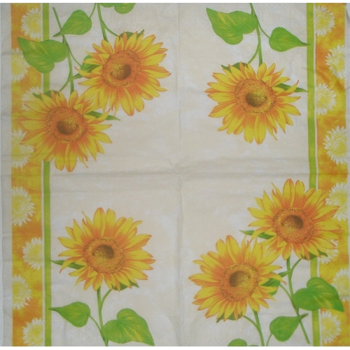 Napkin - sunflower
