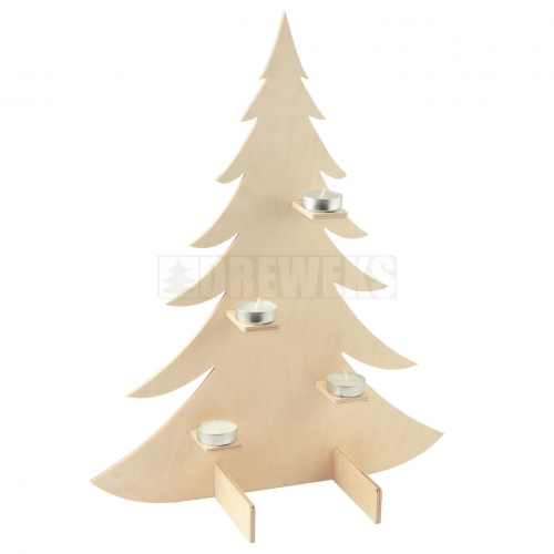 Christmas tree with stands