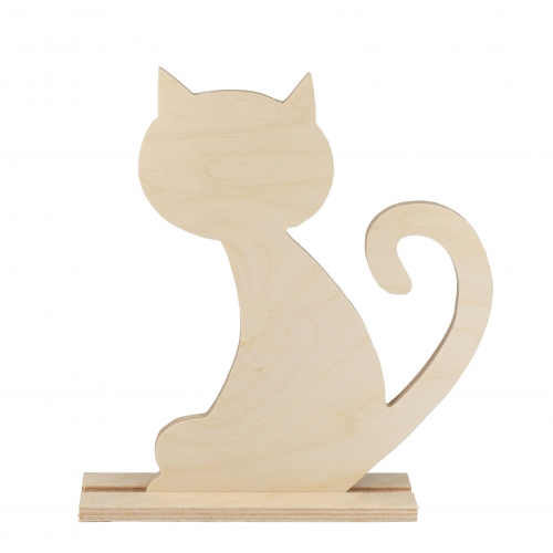 Cat cut-out - plywood