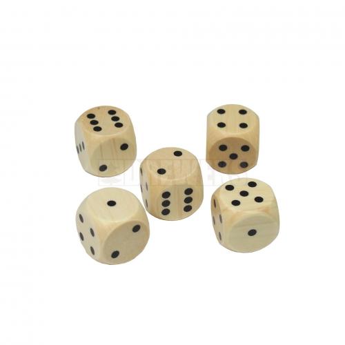 Zestaw pięciu kości do gry