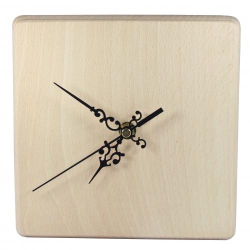 Square clock 19 cm