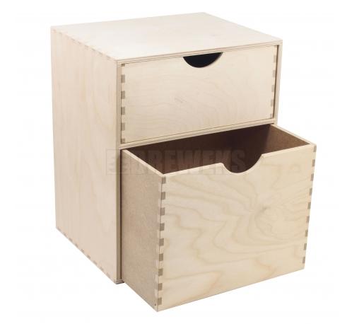 Regał wysoki - 3 szufladki