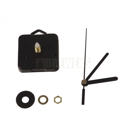 Clock mechanism with hands - 92 mm/ thread 5 mm