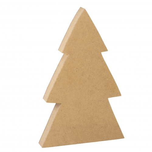 Christmas tree - solid/ MDF material