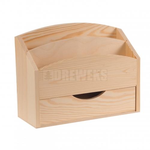 Segregator, listownik z szufladą