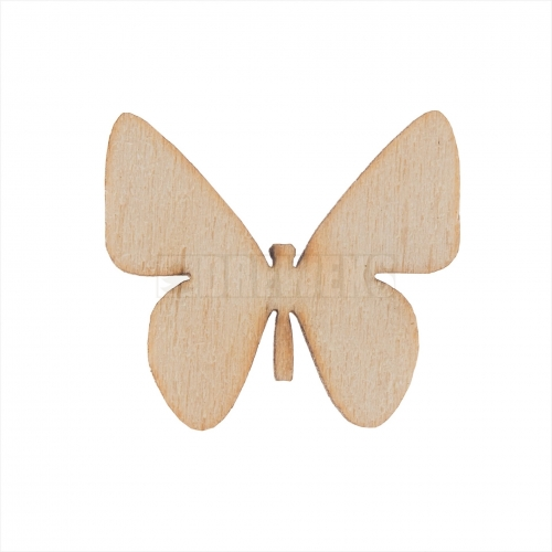 Cut-outs - butterfly/ set of 5 pcs