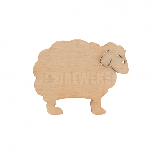Cut-outs - sheep/ set of 5 pcs